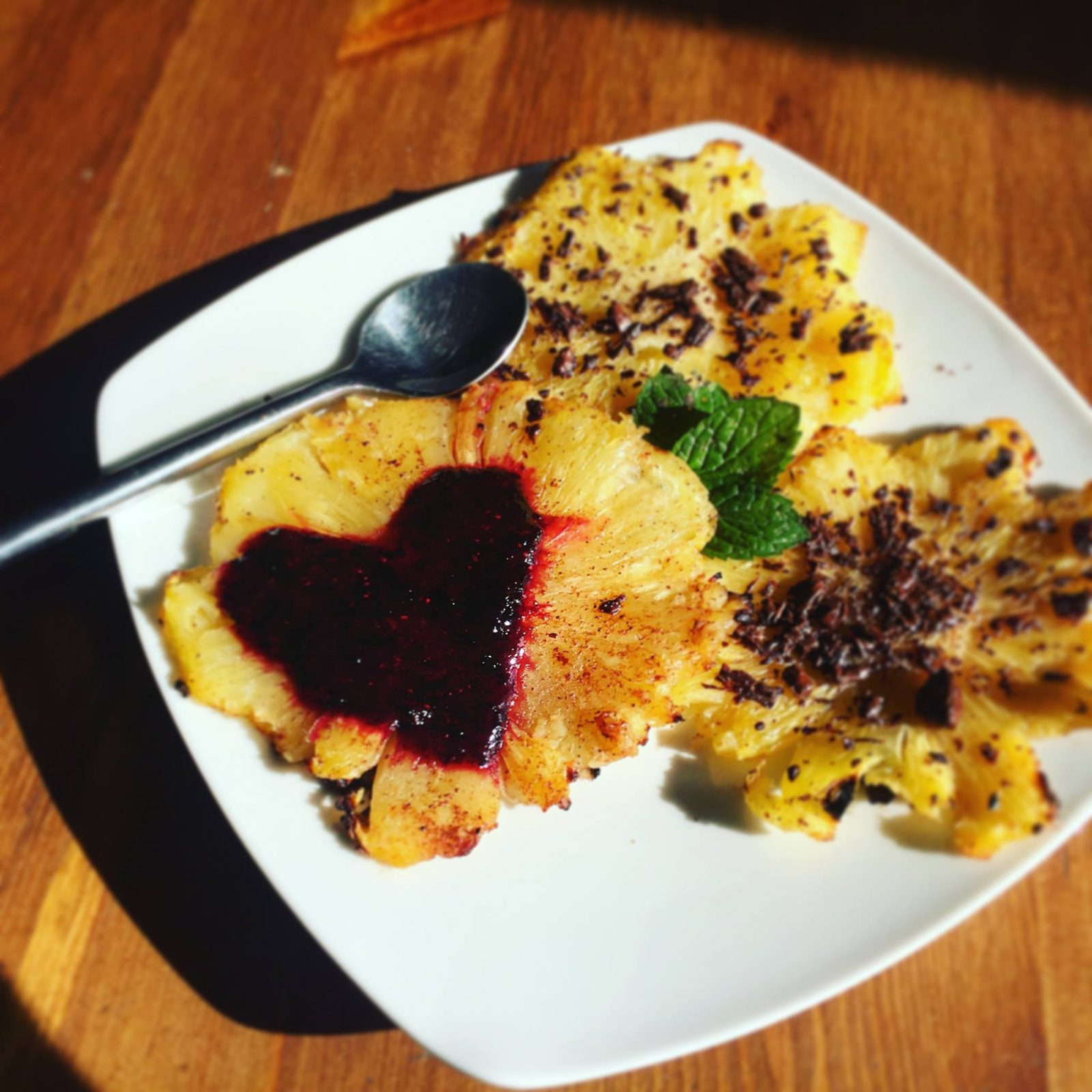 Recette dessert light ananas